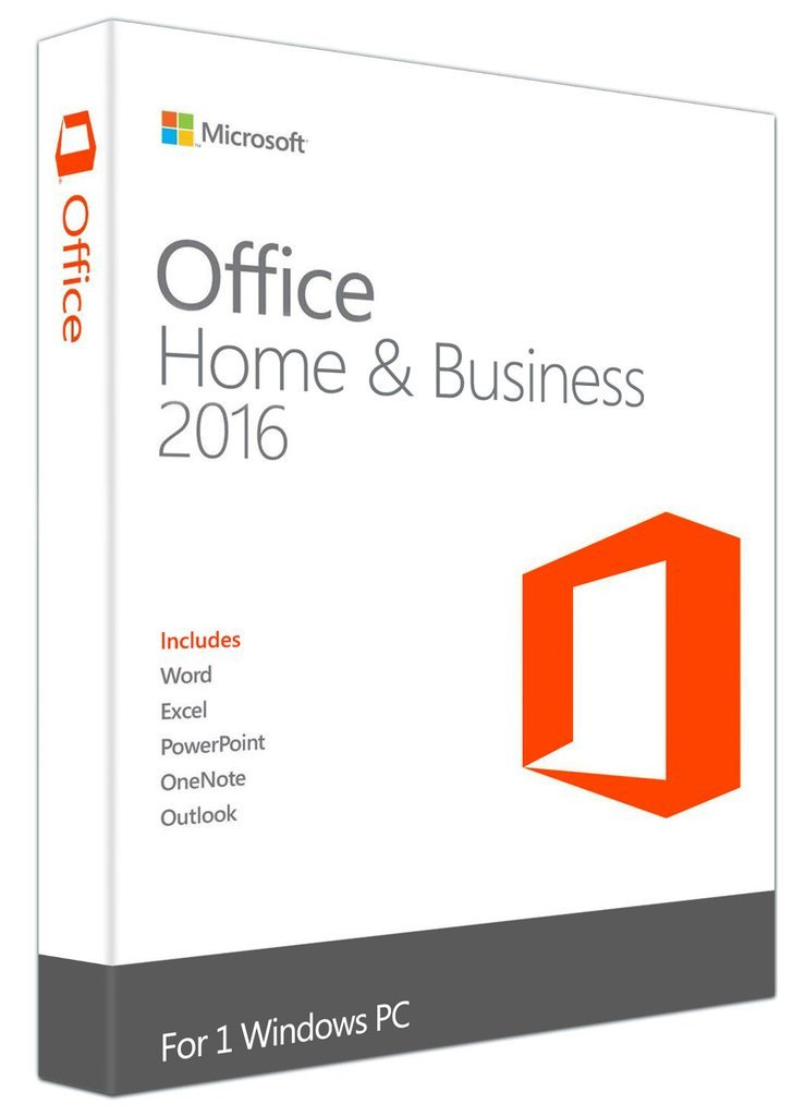 Microsoft Office 2016 Home and Business 1PC