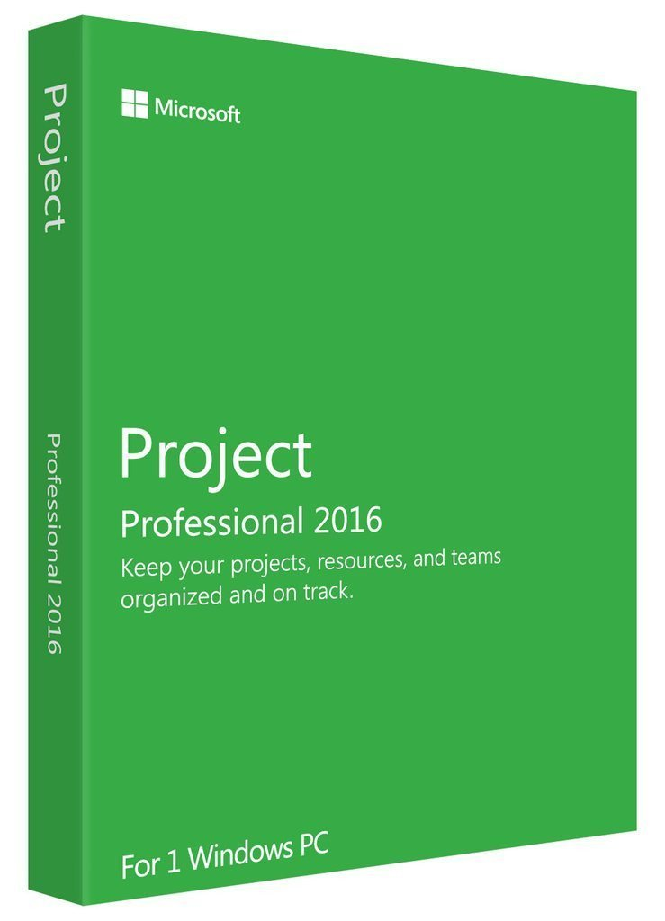 Microsoft Project 2016 Professional 1PC