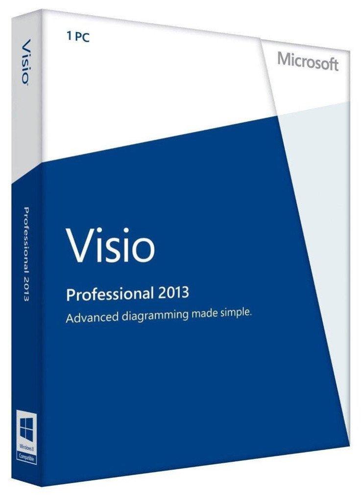 Microsoft Visio 2013 Professional 1PC