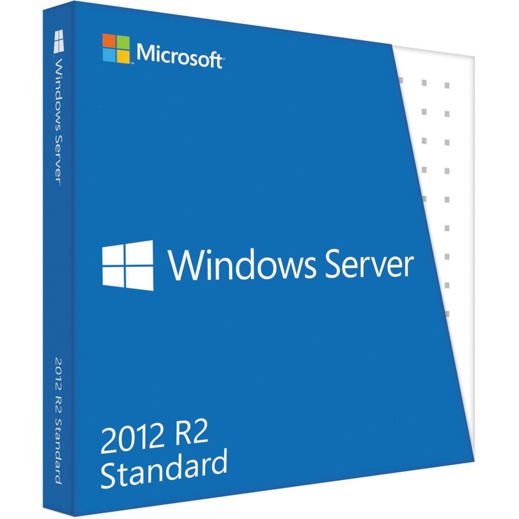 Microsoft Windows Server 2012 R2 Standard OEM (2CPU/2VM)