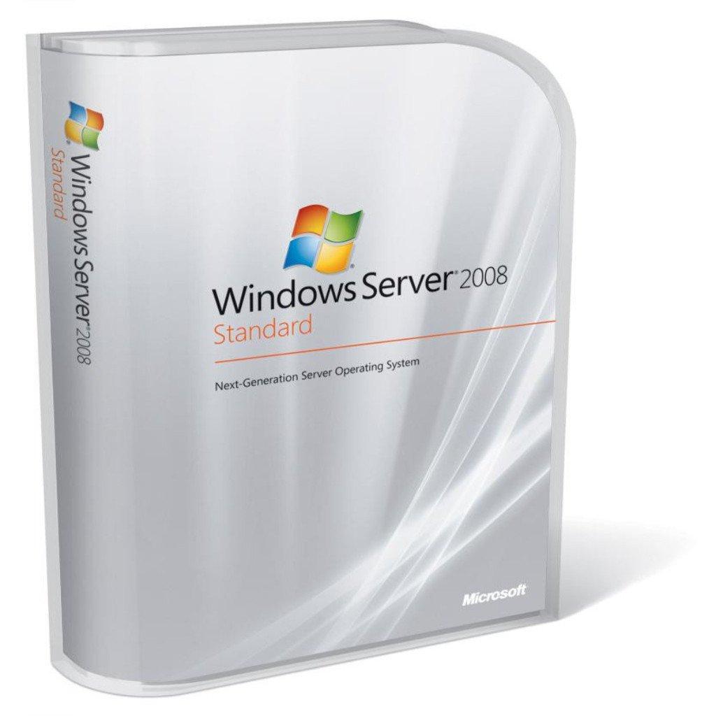Microsoft Windows Server 2008 R2 Standard OEM (2CPU/2VM)